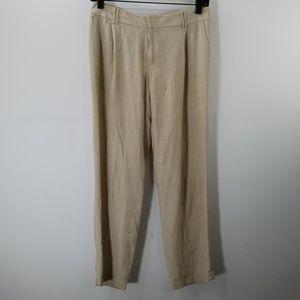 Club Monaco Beige Straight Leg Pants Size 0